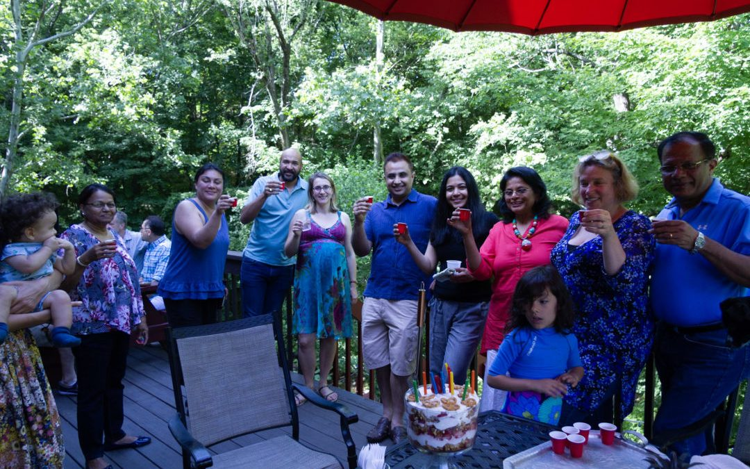 Annual Potluck for NYLESA families in Milford, PA